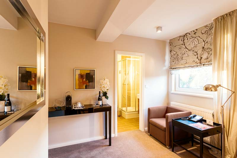 Doppelzimmer Ole Deele Hotel Wohnen Burgwedel Hannover