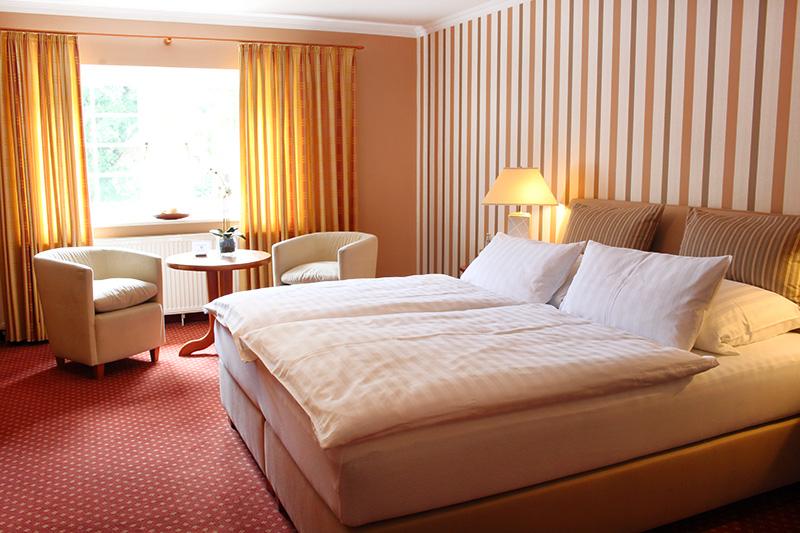 Doppelzimmer Ole Deele Hotel Schlafen Bett Burgwedel Hannover