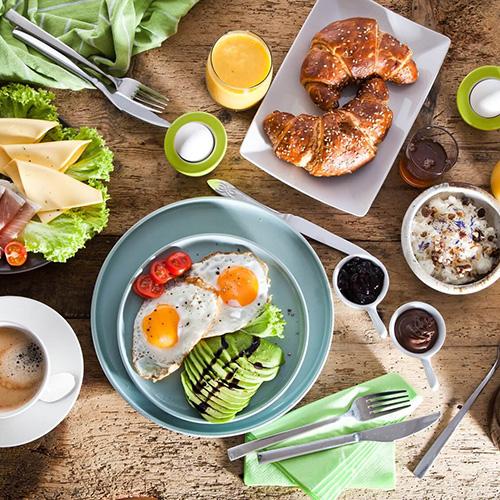 Frühstücken in der Ole Deele